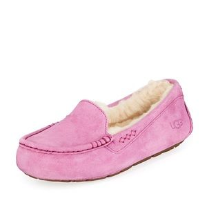 Ugg moccasins. Pink/purple color